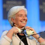 Christine Lagarde, directora general del Fondo Monetario Internacional (FMI)