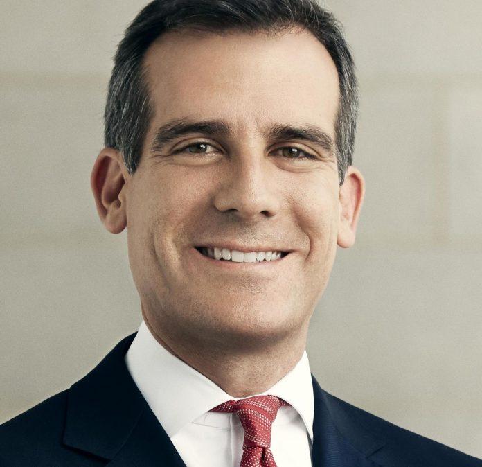 Eric Garcetti, alcalde de Los Angeles y presidente de C40
