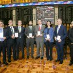 Los premiados en la primera edición de los Premios OFISO a la Financiación Sostenible